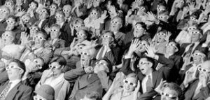 Surprised Cinema Audience